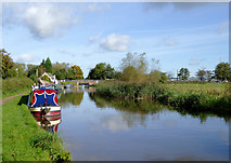 SJ9922 : Moorings at Great Haywood Junction, Staffordshire by Roger  Kidd