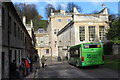 ST7475 : Shuttle bus at Dyrham House by M J Roscoe