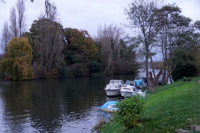 River Thames at Platt's Eyot, Molesey