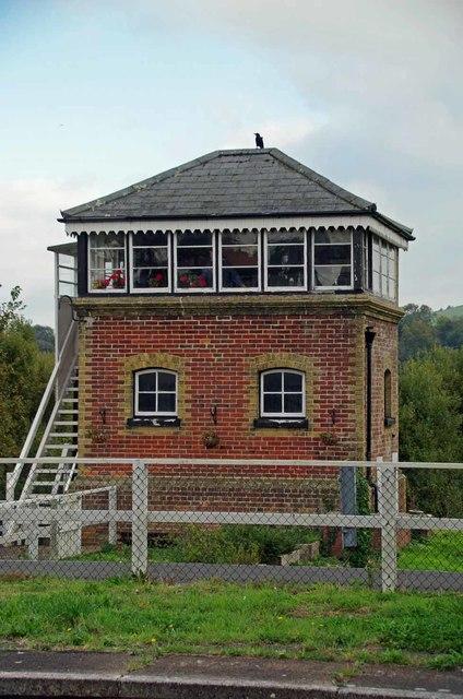 Brading Signal Box
