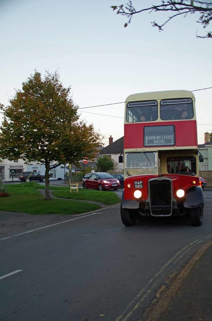 A Bus in Bembridge