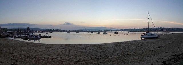 Bembridge Harbour Panorama