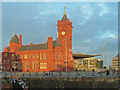 ST1974 : The Pierhead Building, Cardiff Bay by Robin Drayton