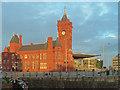 ST1974 : The Pierhead Building, Cardiff Bay by Robin Drayton