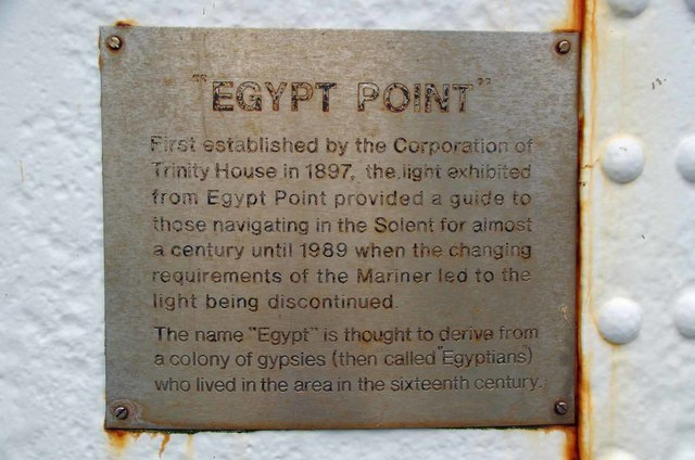 Egypt Point Light Plaque