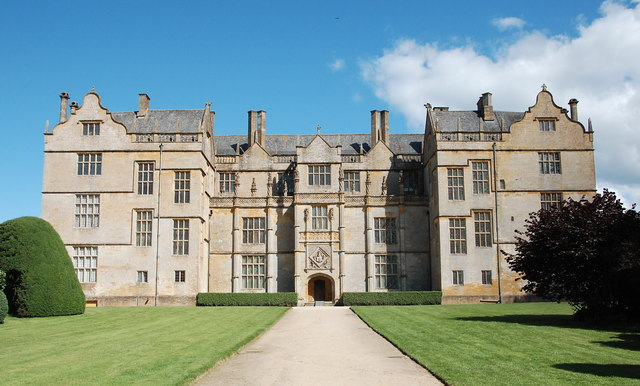 Montacute House: the west front