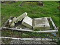 TF5002 : Desecrated war grave in Upwell churchyard by Adrian S Pye