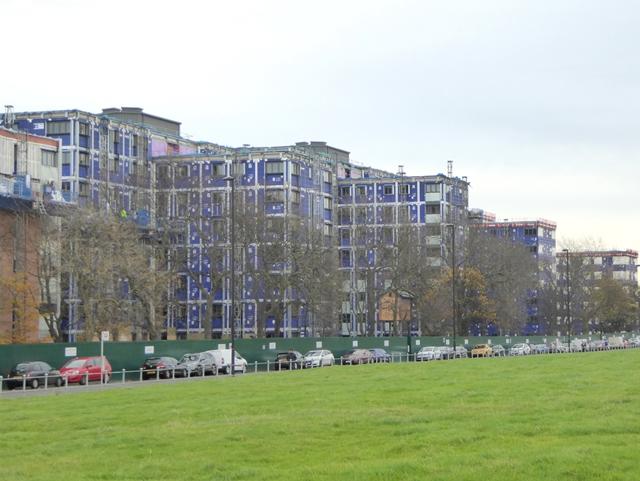 Student accommodation under construction
