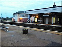 NO8686 : Dusk at Stonehaven Station by Stanley Howe