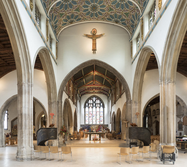 Chelmsford Cathedral - East end