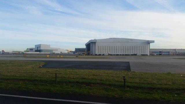 Hangar at Heathrow