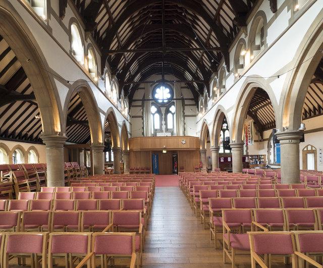 All Saints, Woodford Wells - West end