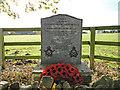 TF0246 : 1942 aircraft crash memorial by Adrian S Pye