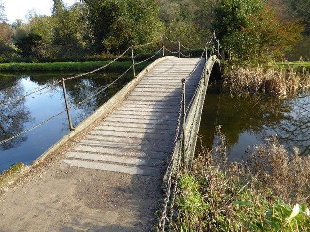 Iron Bridge, Stourhead Gardens