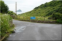 SX5148 : Road junction Wembury by N Chadwick
