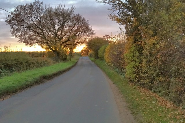 The road out of Pavenham