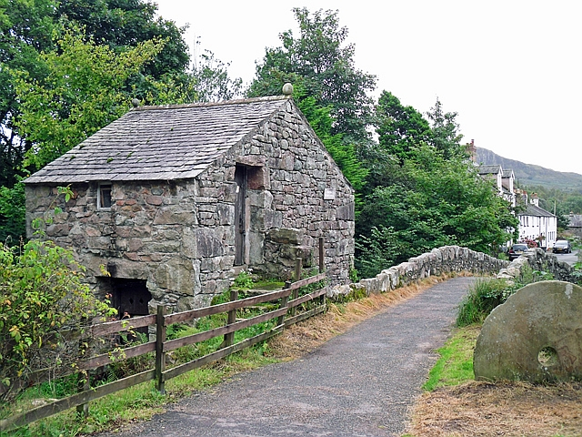 Stone outbuilding at Eskdale Mill