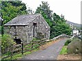 NY1701 : Stone outbuilding at Eskdale Mill by Rose and Trev Clough