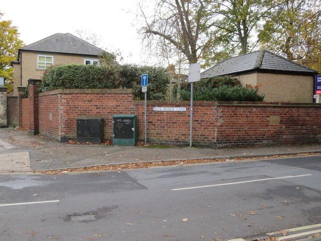 Corner of Blue Bridge Lane with Fishergate
