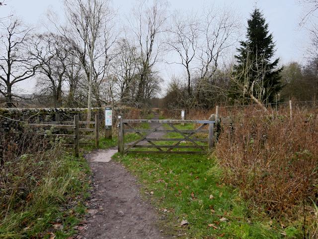 Path round Stocks Reservoir