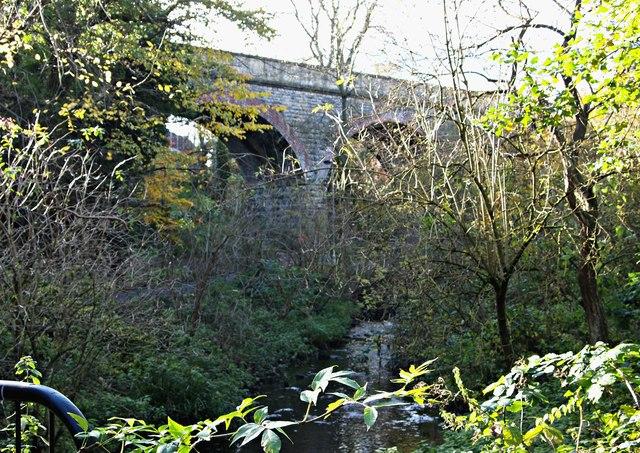 Drury's Dam Viaduct, Mansfield, Notts.