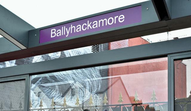 EWAY halt, Ballyhackamore, Belfast - November 2017(2)