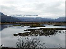 SH5838 : Afon Glaslyn viewed from the Cob by John Lucas