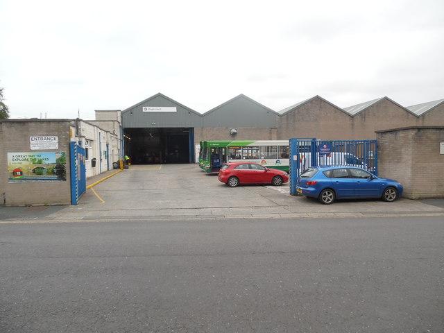 Stagecoach Bus Depot, Kendal