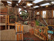 SJ6775 : The Pump House, Lion Salt Works by David Dixon