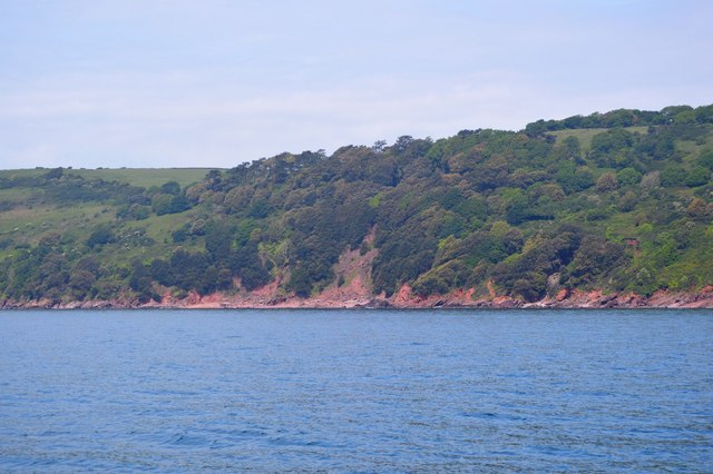 Between Sandway Point and Hooe Lake Point