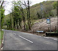 SS7999 : B4434 from Tonna towards Clyne by Jaggery