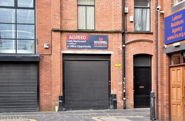 No 46 Hill Street, Belfast (November 2017)