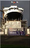 NS3274 : MV Glen Sannox under construction by Alison Nugent