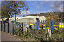 SK2664 : Arconic works at Rowsley South station by Robert Eva