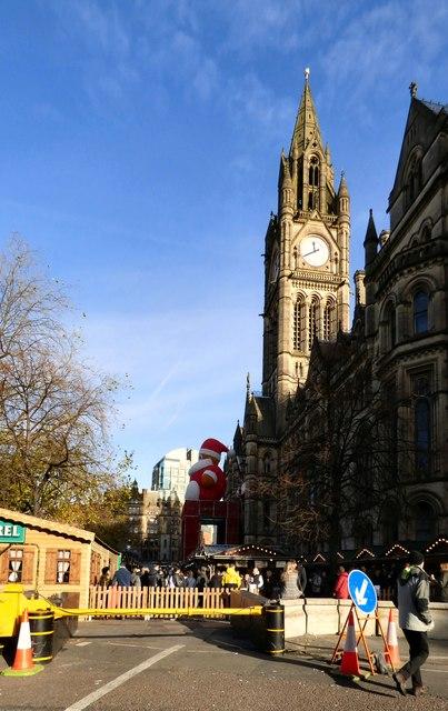 Christmas Market in Albert Square