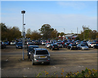 TL4259 : Madingley Road Park & Ride by Hugh Venables