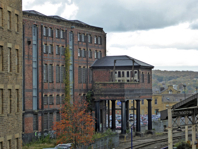 Large railway warehouse - Huddersfield