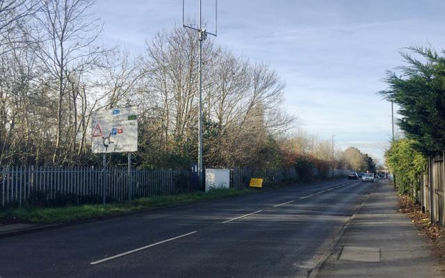 West on Fields Farm Road, Long Eaton