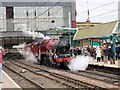 NY4055 : Galatea at Carlisle Railway Station by Martin Tester