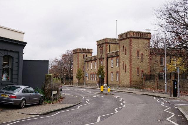 The Barracks, Kingston
