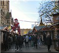 SJ8398 : Christmas Market in Albert Square. by Gerald England