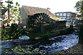 TQ2669 : Waterwheel at Merton Abbey Mills by David Kemp