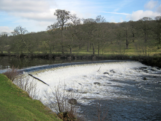 Lower Weir at Chatsworth