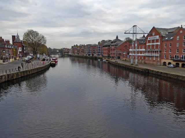 The River Ouse from Bridge Street, York