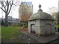 TQ2881 : Mausoleum in Paddington Street Gardens by Marathon