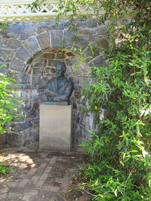 Statue at Bodnant Garden