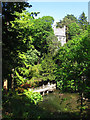 SH7971 : The Dell at Bodnant Garden by Stephen Craven