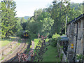 SH7956 : Train departing Betws-y-Coed  by Stephen Craven