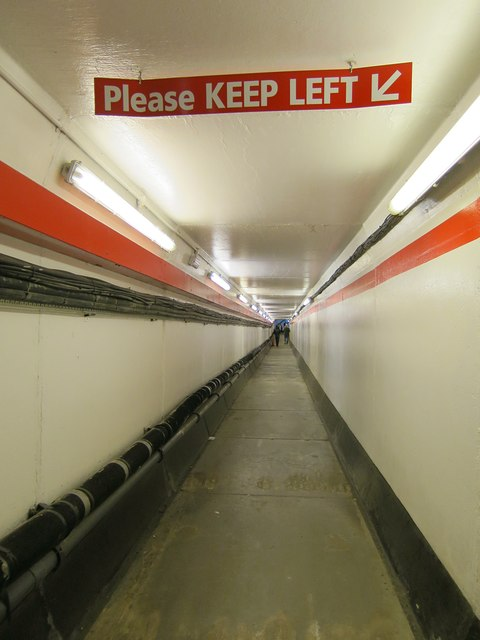 Brands Hatch, pedestrian Tunnel under Brabham Straight