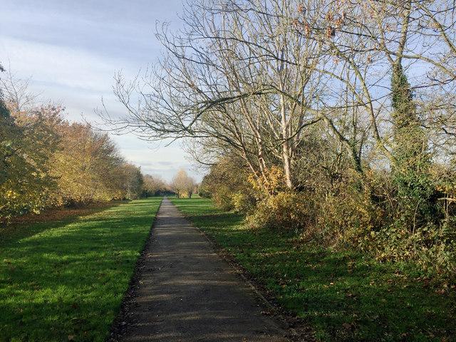 Open space parallel to Fields Farm Road, Long Eaton